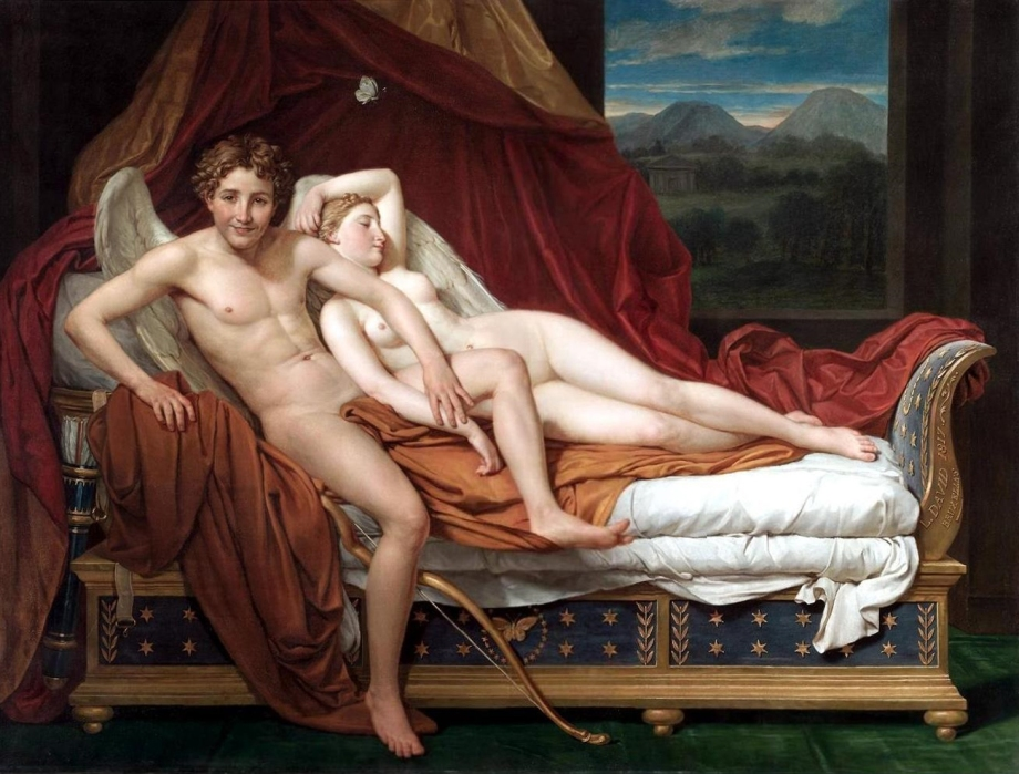 Cupido y Psique, de Jacques-Louis David..jpg